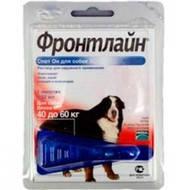 FrontLine Spot ON XL капли на холку для собак от 40 до 60 кг