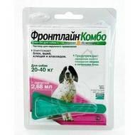 FrontLine Combo L капли на холку для собак от 20 до 40 кг