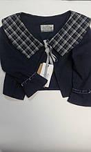 Жакет дівч Зіронька 4300-3, 128 джинс вінтаж