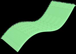 Міні-матрац Top Green