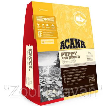 Сухой корм для щенков и собак ACANA PUPPY & JUNIOR 17 кг, фото 2