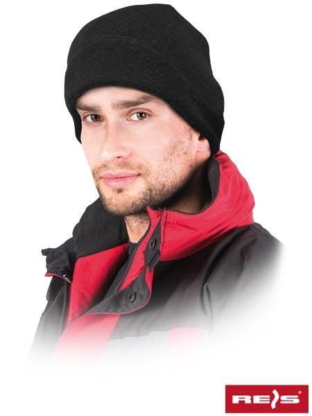Шапка зимняя утепленная REIS Польша черная CZCHILLIN B