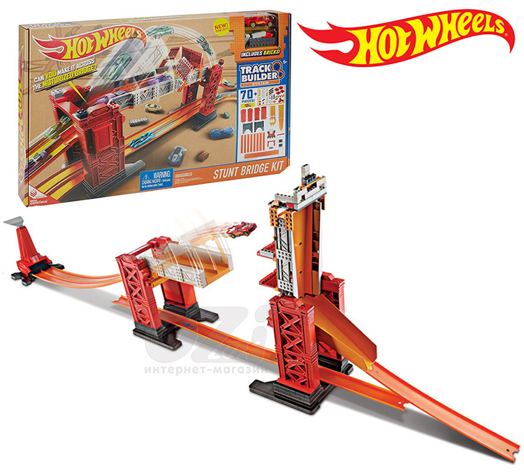 Трек Hot Wheels Разводной мост DWW97