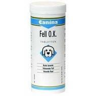 Витамины для гладко-жесткошерстных собак Canina Fell O.K. 125 т (Арт. - 101306)