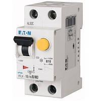 Дифференциальный автоматический выключатель PFL4-10/1N/B/003 (293290) Eaton, фото 1