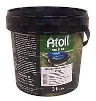 Декоративная штукатурка Эльф-Декор ATOLL - Декоративное покрытие с вкраплением различных минералов
