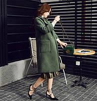 Удлиненное женское пальто