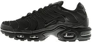 Женские кроссовки Nike Air Max TN All Black, Найк Аир Макс ТН, фото 2