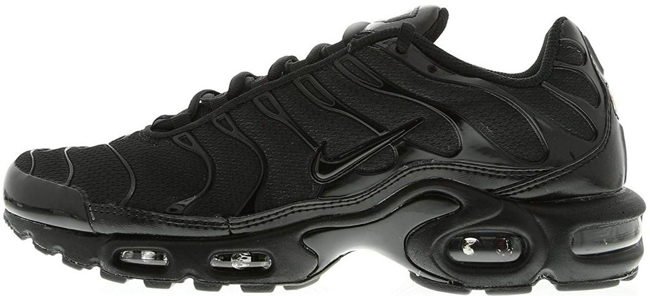 Женские кроссовки Nike Air Max TN All Black, Найк Аир Макс ТН