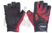 Перчатка спиннингиста Fishing ROI WK-11 red XXL (c 2 пальц.)  (301-WK-11-2XL-R)
