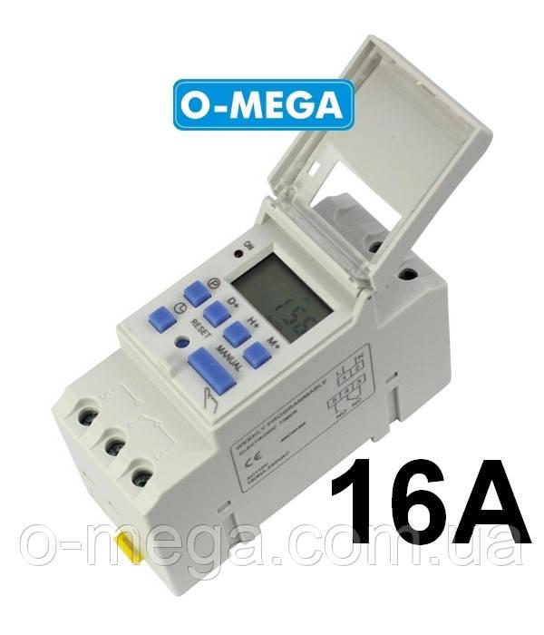 Таймер для инкубатора недельный TP8A16 программируемый многофункциональный