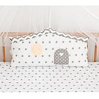 """Бортик-домик, защита в детскую кроватку """"One Window"""""""
