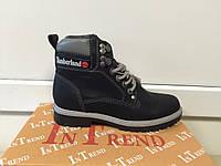 Женские зимние черные ботинки, копия Тимберленд In-Trend 2294 blnc