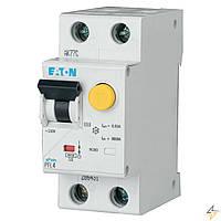 Диференційний автоматичний вимикач PFL4-10/1N/C/003 (293297) Eaton