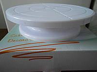 Столик поворотный кондитерский для торта 7 см-28 см пластик