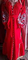 Платье женское в стиле бохо.