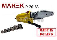 Паяльник для пластиковых труб  Marek 20-63