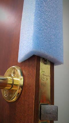 Профиль упаковочный П - образный из вспененного полиэтилена 40х40х10мм, защитный профиль ППЭ, фото 2