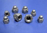 Колпачковые гайки М20 ГОСТ 11860-85 сталь А2, А4, фото 1