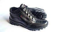 Мужские зимние кожаные ботинки Columbia ZK Antishok Winter Реплика класса ААА