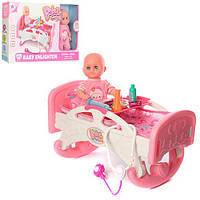 Детская кроватка с пупсом W0183. МО. Гарантия качества. Быстрая доставка.