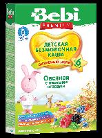 Bebi Premium безмолочная овсяная каша с лесными ягодами