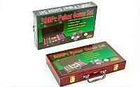 Набор для покера POLER IN WOOD 300 + NOMINAL
