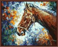 "Картина по номерам (40*50 см) ""Лошадь"" G007"