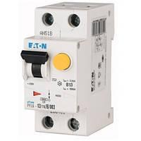 Дифференциальный автоматический выключатель PFL6-13/1N/B/003 (286430) Eaton, фото 1