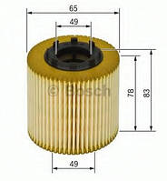 Фильтр масла Fiat Dolo 119/223/263 1,3D Bosch 1457429256