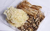Набор грибов (Опята Эноки, Коралловый гриб, Шиитаке)