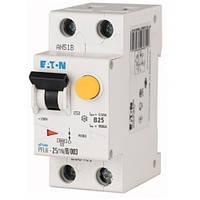Дифференциальный автоматический выключатель PFL6-25/1N/B/003 (286433) Eaton, фото 1