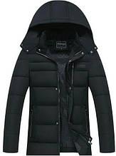 """Мужская зимняя куртка All Black Classic """"GYFS"""""""