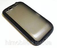 Чехол силиконовый бампер для HTC S510e черный