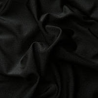 Бифлекс, ткань бифлекс с блеском - цвет черный