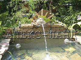 Водопад, декоративный элемент.