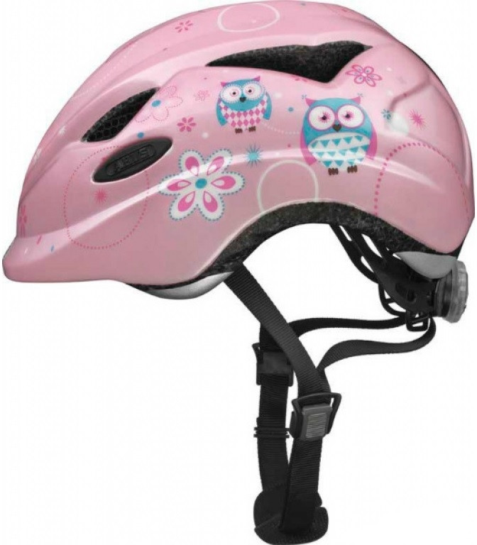 Велошлем  детский  ABUS ANUKY Rose Owl (M)