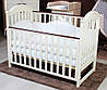 Кроватка Twins iLove маятник/ящик слоновая кость/орех, фото 2