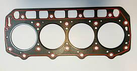 Прокладка ГБЦ двигателя KOMATSU 4D94LE асбест № 129901-01350