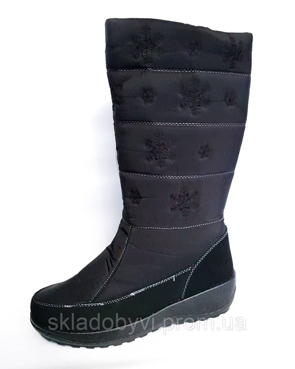 Женские дутики сапоги аляска