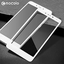 Защитное стекло Mocolo 2.5D 9H на весь экран для Xiaomi Redmi Note 5A белый