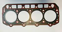 Прокладка головки блоку циліндрів двигуна YANMAR 4TNE94 азбест №129901-01350