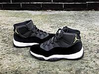 Кроссовки мужские Nike Air Jordan 11 Black Gold