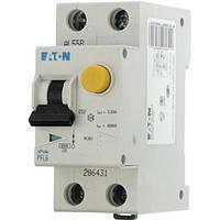 Дифференциальный автоматический выключатель PFL6-25/1N/C/003 (286469) Eaton, фото 1