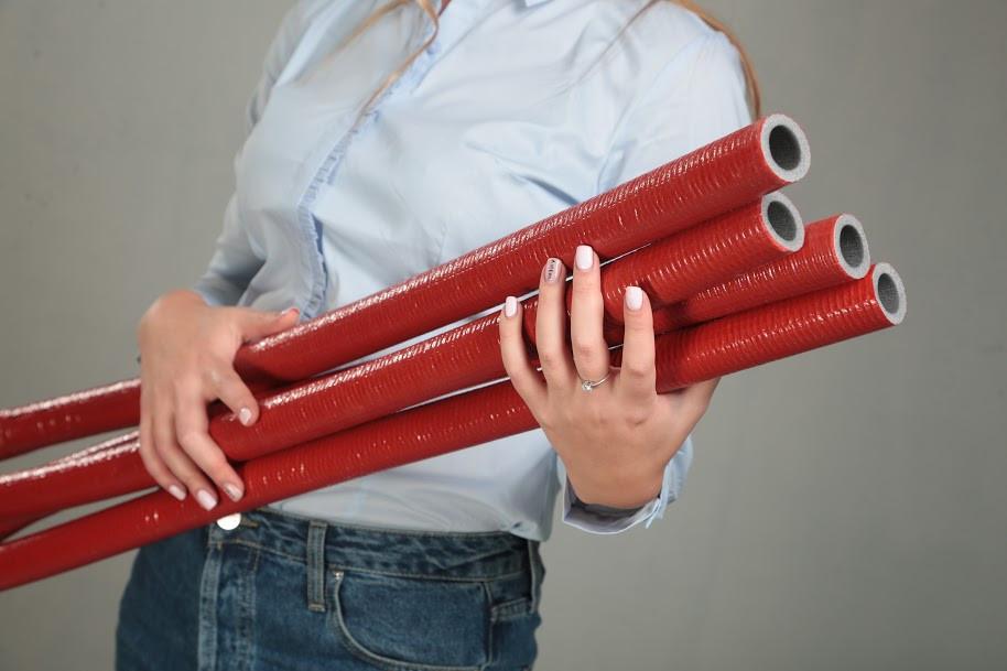 Теплоизоляция  для труб в защитной оболочке 9x42мм