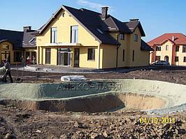 Строительство искусственного водоема  2