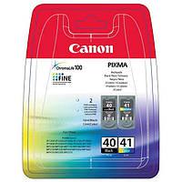 Комплект картриджей Canon PG-40 + CL-41, 16 ml + 12 ml, OEM (0615B043)