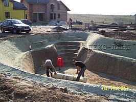 Строительство искусственного водоема  3