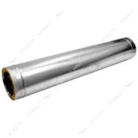 Труба утепленная нержавейка AISI 430\оц 0,5м