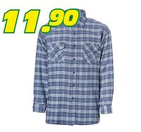 Фланелевая мужская рубашка